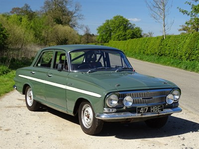 Lot 34-1964 Vauxhall VX4/90