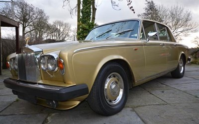 Lot 84-1980 Rolls-Royce Silver Shadow II
