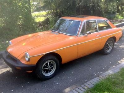 Lot 55 - 1978 MG B GT