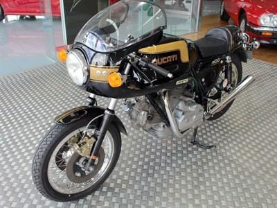 Lot 21-1979 Ducati 900 SS