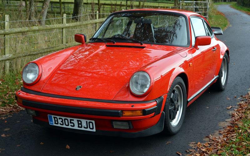 Lot 59-1985 Porsche 911 Carrera 3.2