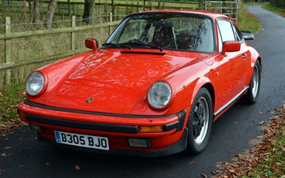 Lot 59-1985 Porsche 911 Carrera 3.2