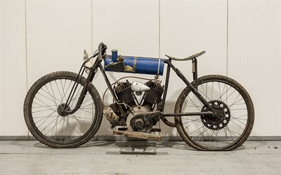 Lot 13-c.1922 Indian Board Track Racer