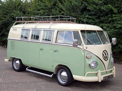 Lot 65-1965 Volkswagen Type 2 Camper Van