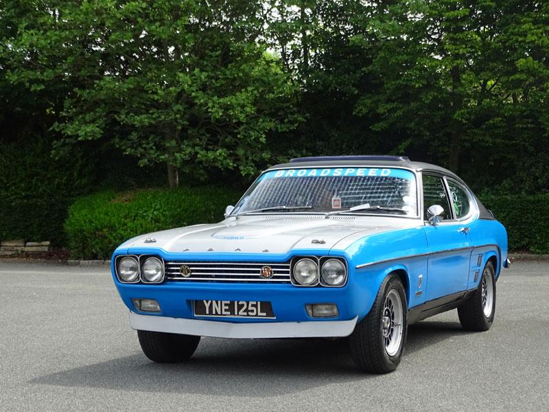 Lot 36-1972 Ford Capri Broadspeed Turbo Bullit