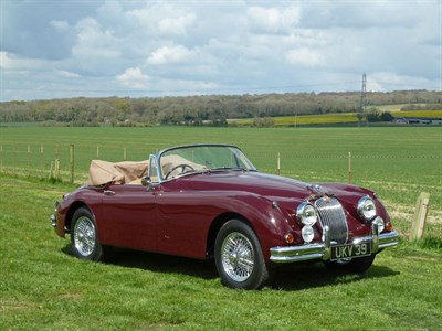 Lot 41-1959 Jaguar XK150 3.4 Litre 'S' Drophead Coupe