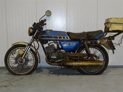 Lot 42-1977 Yamaha RD125