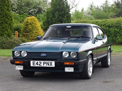 Lot 42-1988 Ford Capri 280 Brooklands