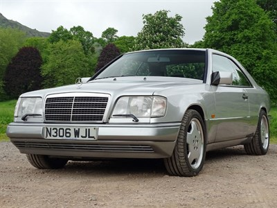 Lot 5-1995 Mercedes-Benz E36 AMG Coupe