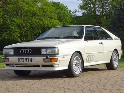 Lot 10-1984 Audi Quattro