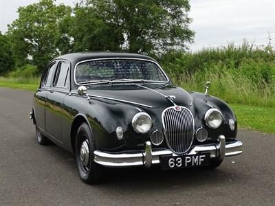 Lot 43-1958 Jaguar MK I 2.4 Litre