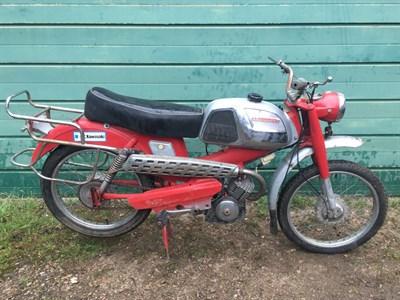 Lot 5-1969 Motobecane SP 94 TT