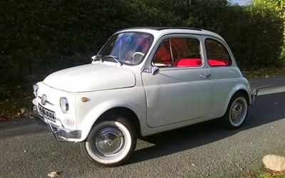 Lot 19-1966 Fiat 500 F