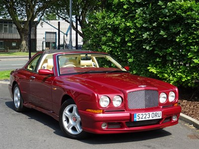 Lot 31-1998 Bentley Continental SC Sedanca