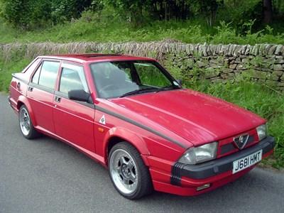 Lot 33 - 1992 Alfa Romeo 75 3.0 V6 Cloverleaf