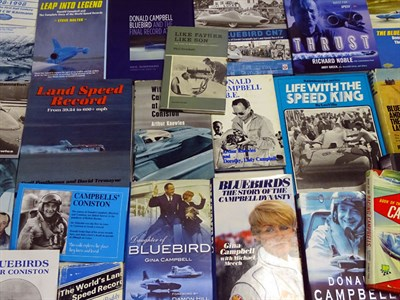 Lot 24 - Quantity of Speed Record Books