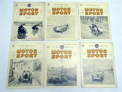 Lot 16-Motorsport Magazine Volume 4