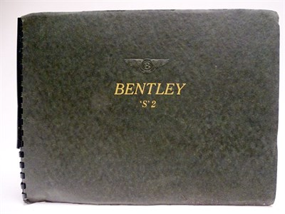Lot 26-Bentley 'S'2 Sales Brochure