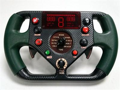 Lot 35-Reproduction Jaguar F1 Steering Wheel