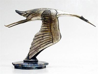 Lot 42-An Early Hispano Suiza H6B V12 Flying Stork Mascot