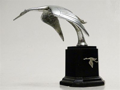 Lot 44 - A Flying Stork Accessory Mascot, As Fitted to Hispano Suiza