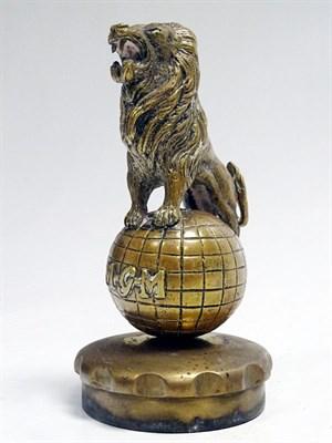 Lot 50-MGM Metro-Goldwyn-Mayer 'Roaring Lion' Accessory Mascot