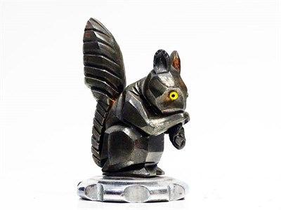 Lot 55 - 'Squirrel Eating a Nut' Accessory Mascot by H. Moreau
