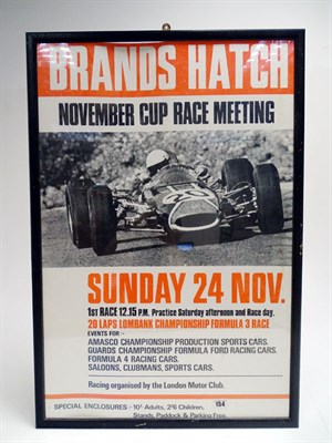 Lot 64 - Two Original Race Advertisement Posters