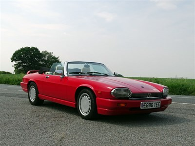 Lot 15-1988 Jaguar XJ-S 5.3 Convertible
