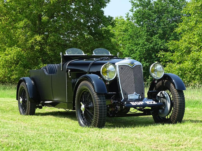 Lot 9-1934 Riley 9 Special Tourer
