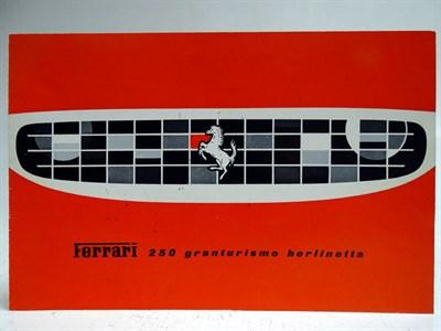 Lot 72-Ferrari 250 Granturismo Berlinetta Sales Brochure