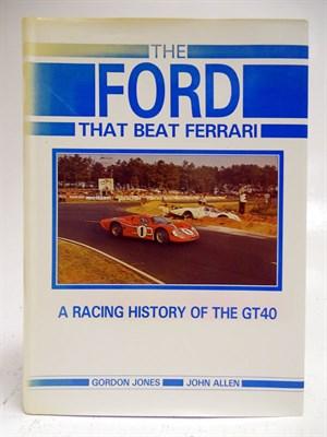 Lot 5-'The Ford That Beat Ferrari'