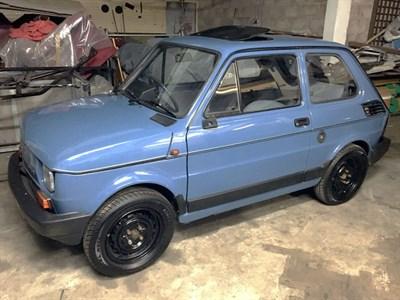 Lot 1-1989 Fiat 126 BIS