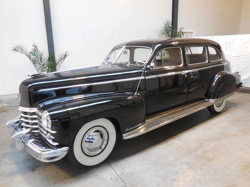 Lot 38-1949 Cadillac Series 75 Fleetwood Sedan