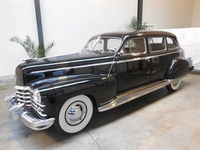 Lot 38-1949 Cadillac Series 75 Fleetwood Sedan