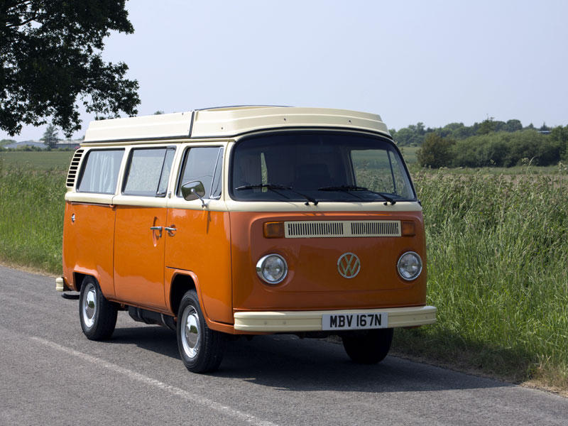 Lot 45-1975 Volkswagen Type 2 Camper Van