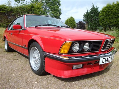 Lot 68-1985 BMW M635 CSi