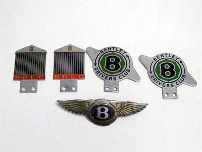 Lot 7-Rolls-Royce and Bentley Badges