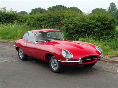 Lot 71-1961 Jaguar E-Type 3.8 'Flat Floor' Coupe