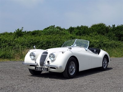 Lot 19-1952 Jaguar XK120 M Roadster