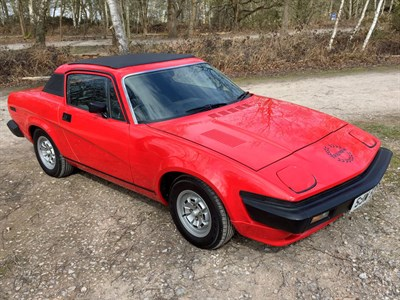 Lot 11-1977 Triumph TR7 Sprint