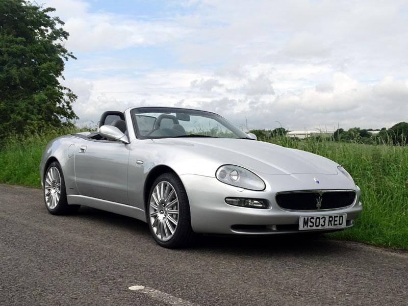 Lot 20-2003 Maserati 4200 GT Spyder