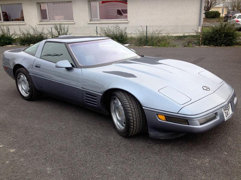 Lot 60-1991 Chevrolet Corvette ZR-1