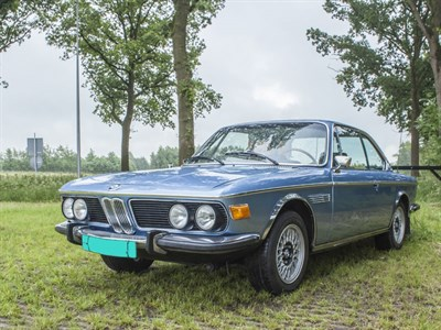 Lot 50-1972 BMW 3.0 CS
