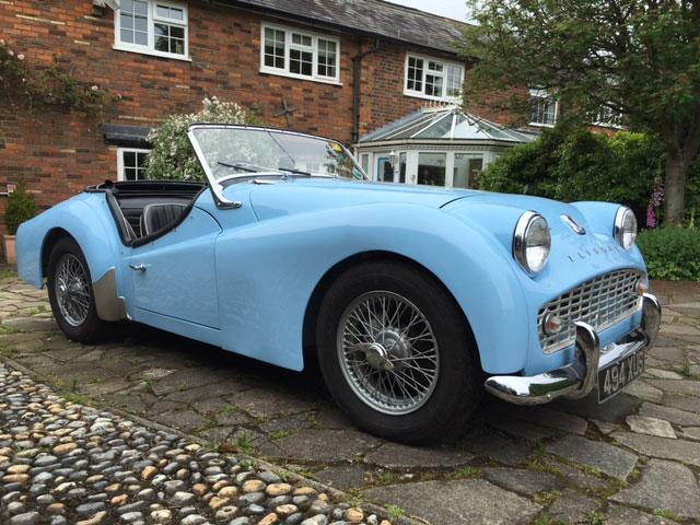 Lot 17-1961 Triumph TR3A