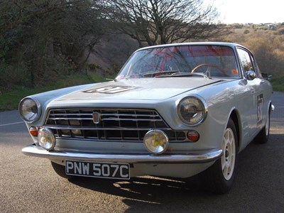 Lot 56-1965 Fiat 2300 S Coupe