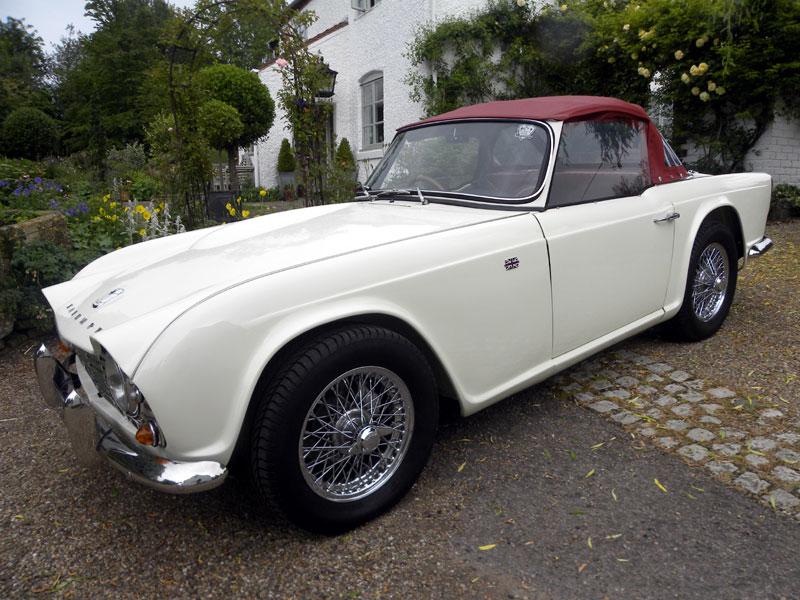Lot 52-1964 Triumph TR4