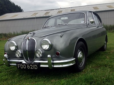 Lot 58-1966 Jaguar MK II 2.4 Litre
