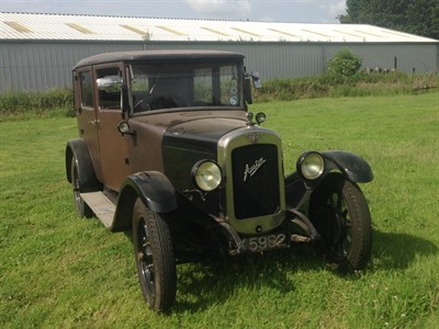 Lot 34-1929 Austin 12/4 Heavy Saloon