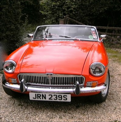 Lot 8-1978 MG B Roadster V8 Conversion